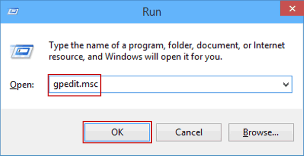 access group policy editor by run command 5 Cách Mở Group Policy Editor Trong Windows 10