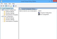 5 cách mở Group Policy Editor